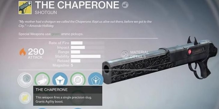 Get The Chaperone in Destiny with Jolly Holliday quest