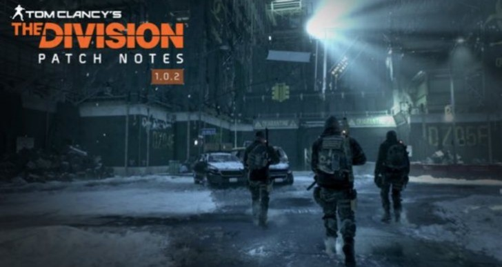 The Division 1.02 update notes for March 22 maintenance