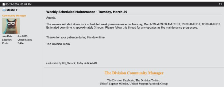 the-division-maintenance-march-29
