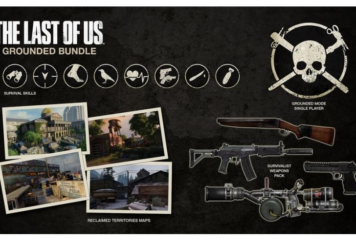 The Last of Us Grounded Bundle DLC with Brutal AI