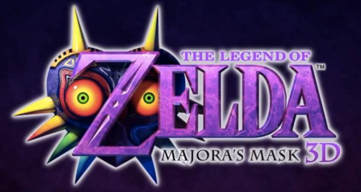 Zelda Majora's Mask 3DS release date joy
