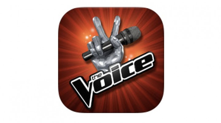 The Voice app on iPad, Android is like Singstar
