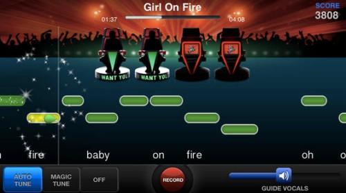 Gameplay similar to Singstar