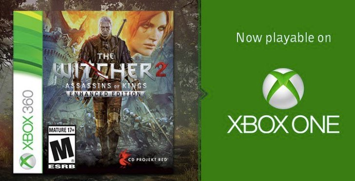 Witcher 2 free download on Xbox One shocks gamers