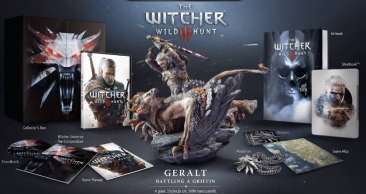The Witcher 3 Collector's Edition stock limited