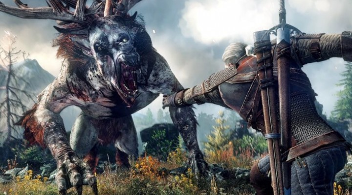 Witcher 3 gameplay live stream event today