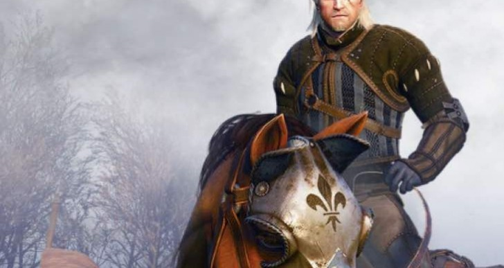 The Witcher 3 free DLC 1 for Horse Armor, Geralt Beard