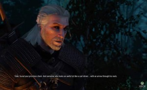 New Witcher 3 Xbox One gameplay is actually from PC
