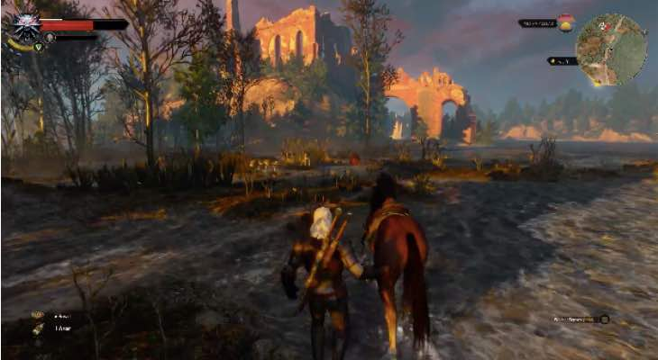 the-witcher-3-xbox-one-footage