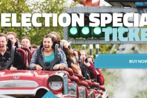 Thorpe Park £20 Tickets deal for May 2017