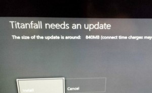 Titanfall Xbox One update live