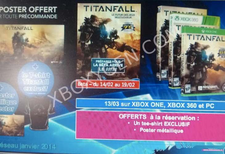 Titanfall PC, Xbox One beta release date teased