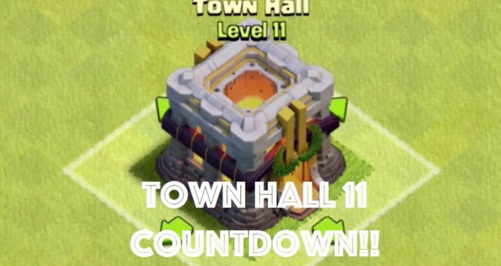 Clash of Clans Town Hall 11 release date countdown