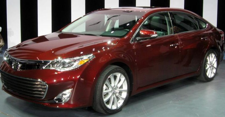Toyota car recall list involves Camry, Venza and Avalon