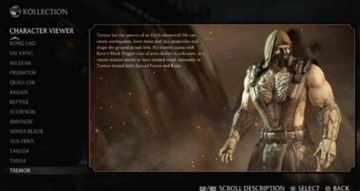 MKX Klassic Fatality pack 2 free with Tremor DLC