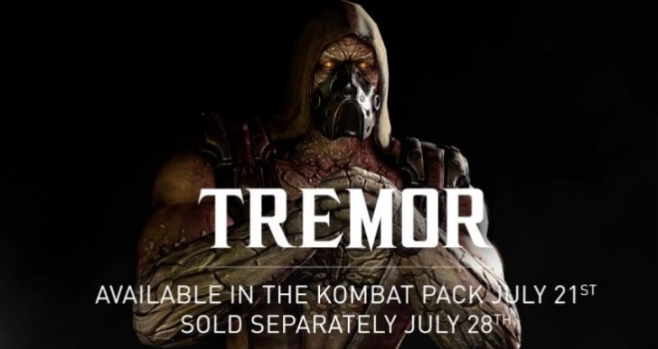 Tremor MKX release time on PS4, Xbox One