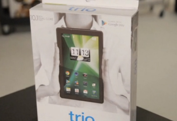 Trio Stealth G2 10.1″ Tablet with great user reviews