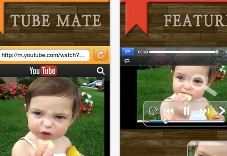 Tubemate app for iPad relieves stress