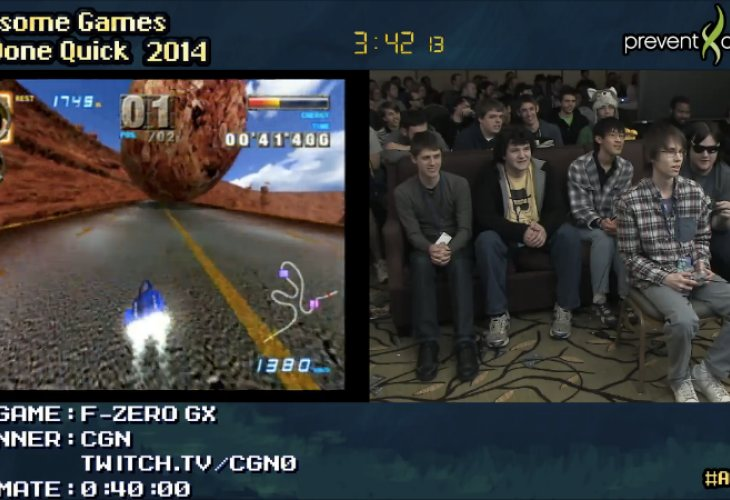 Twitch AGDQ 2014 joy for good cause