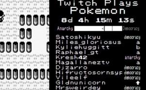 Twitch Plays Pokemon Democracy, Anarchy update