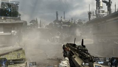 Graphics from Titanfall beta on PC