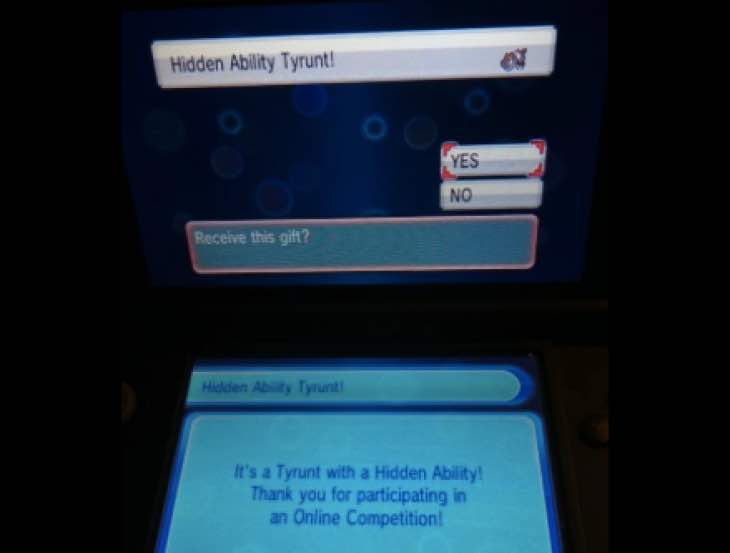 Pokemon ORAS Tyrunt online code with Sturdy – Product