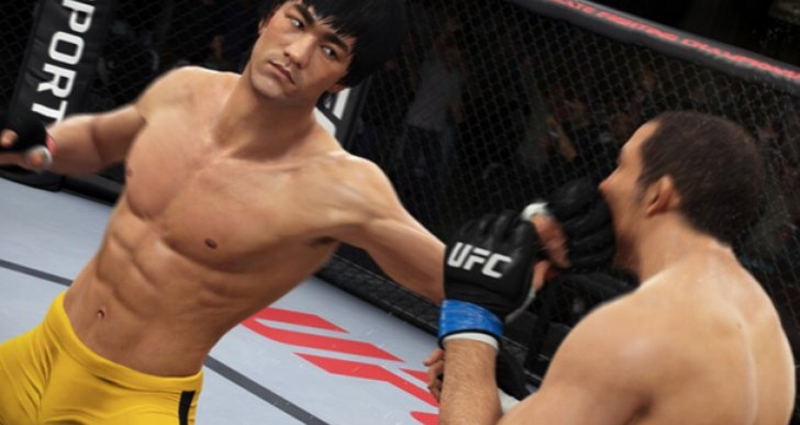 EA Sports UFC PS4, Xbox One hype with Bruce Lee