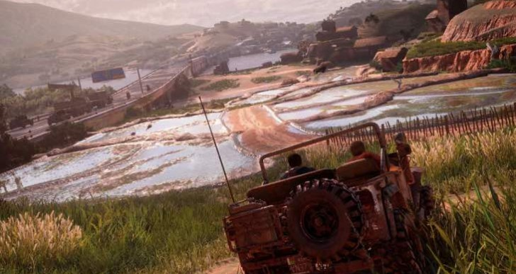 How Nathan Drake enters a car in Uncharted 4