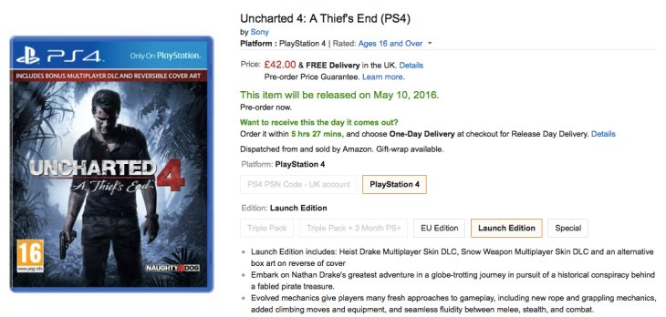 uncharted-4-best-price-amazon-uk