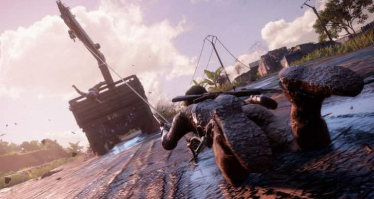 Uncharted 4 extended E3 demo gameplay impresses