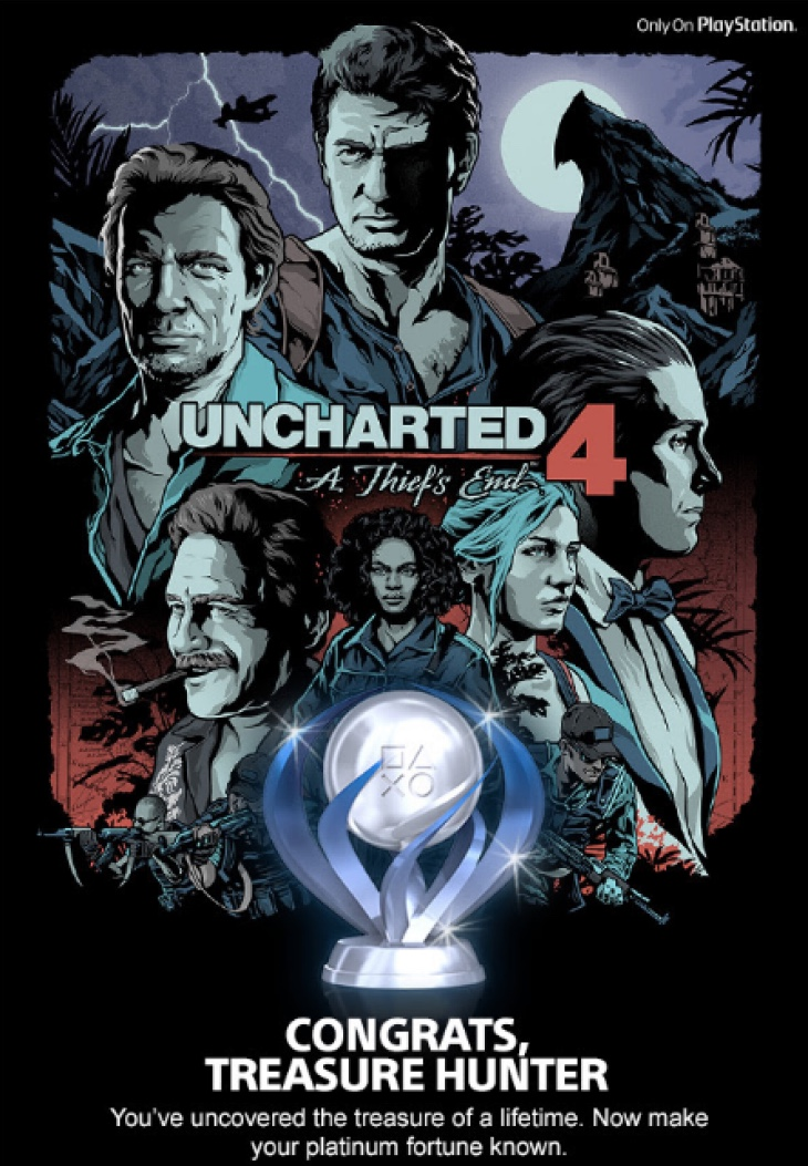 uncharted-4-platinum-trophy-poster