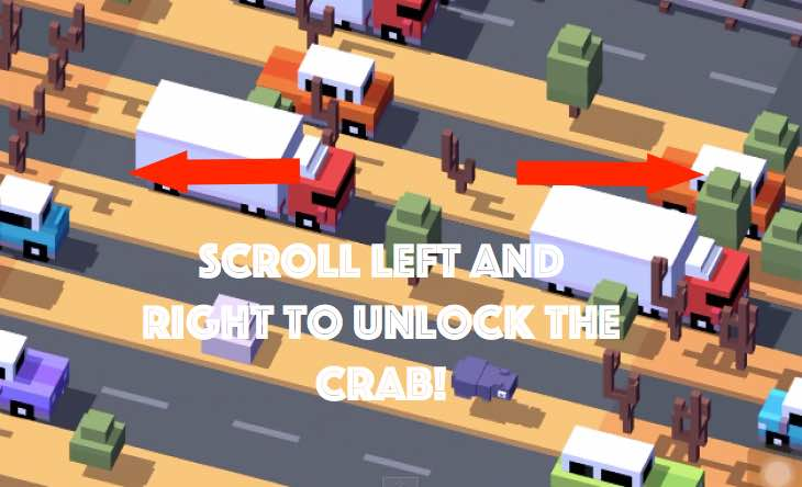 unlocking-crab-in-crossy-road