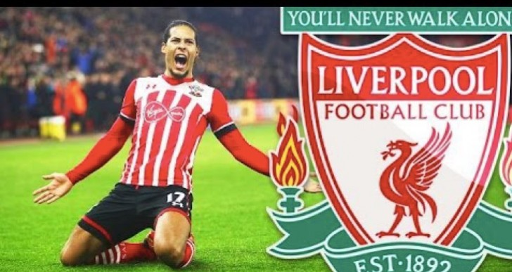 Van Dijk Liverpool rating on FIFA 18 excitement