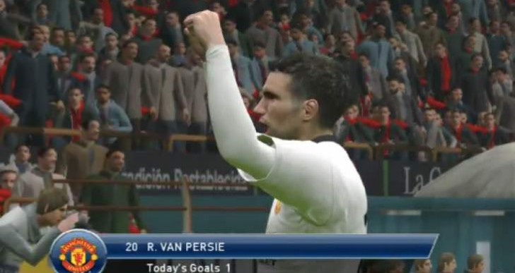 Man Utd Vs Southampton with Van Persie back in business