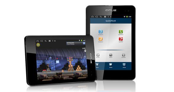 Velocity Micro Cruz T408 / T410 tablet specs and prices, no