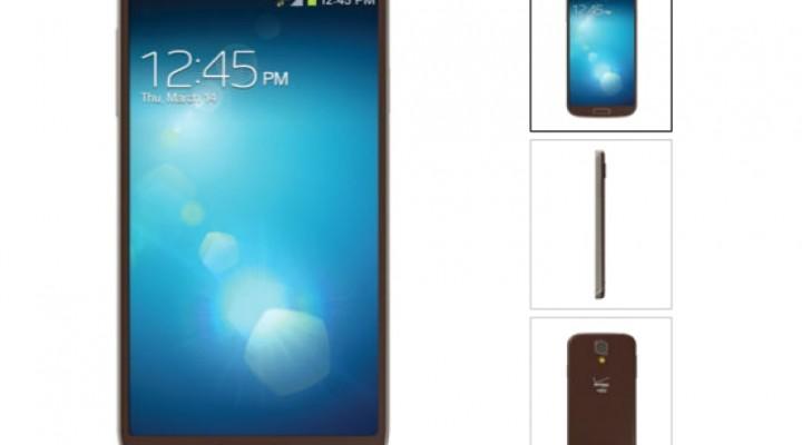 Samsung Galaxy S4 brown paint job live on Verizon