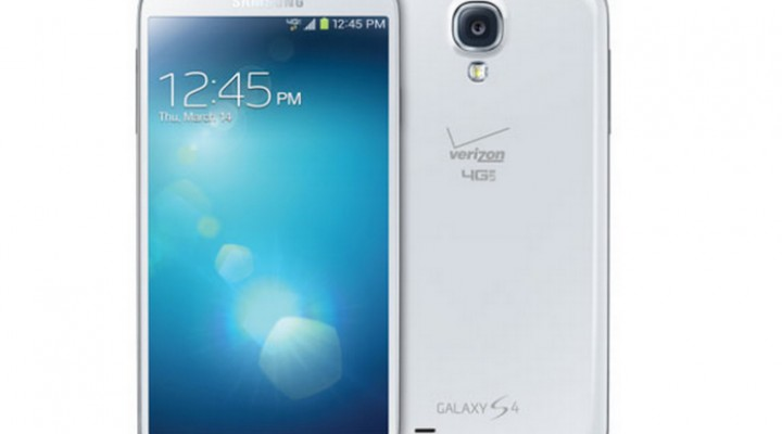 Verizon Galaxy S4 without home button branding joy
