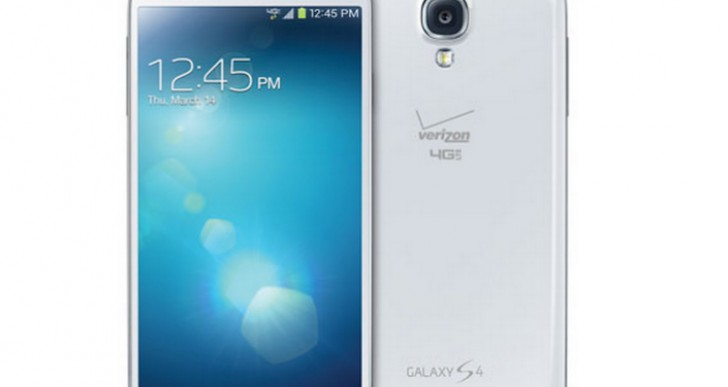 Verizon Galaxy S4 without home button branding joy