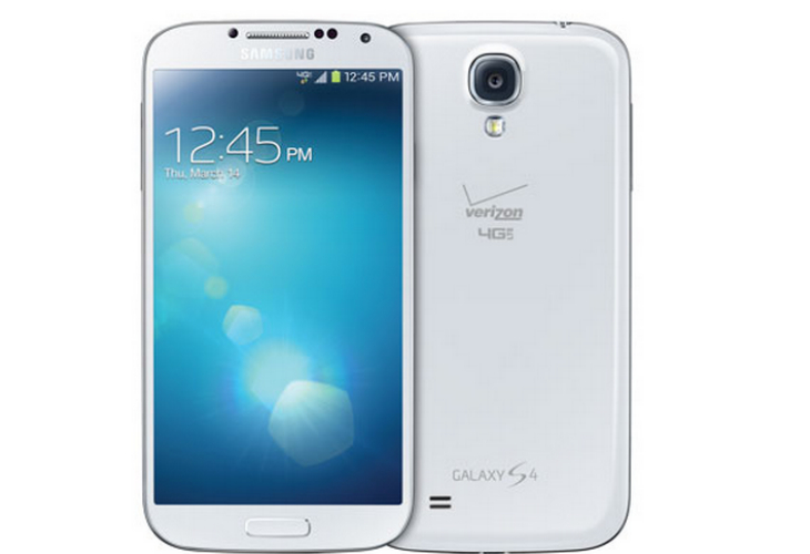 Verizon Galaxy S4 without