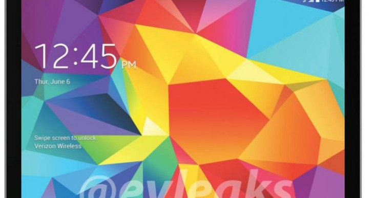Galaxy Tab 4 8.0 Verizon release date with XLTE