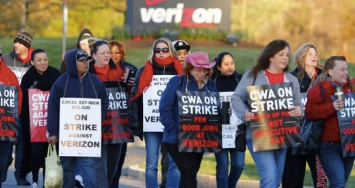 Verizon Strike 2016 could affect service today