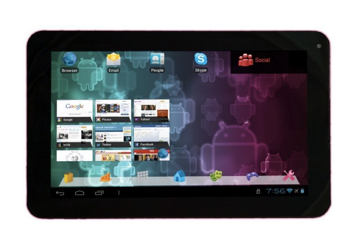 Visual Land Connect 9 tablet review with Google Play warning