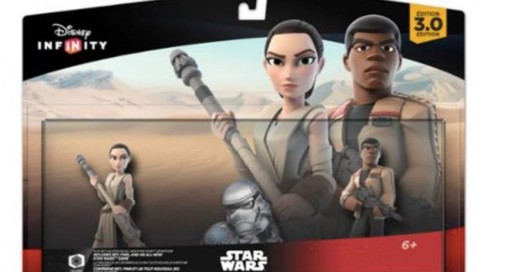 New Disney Infinity 3.0 characters at Walmart
