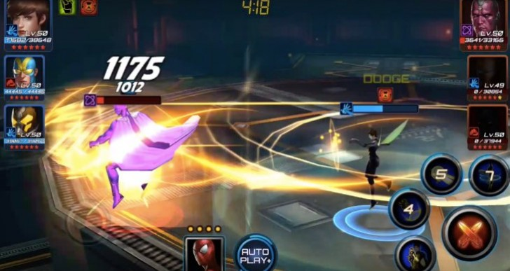 Marvel Future Fight best team with Wasp 6-star review