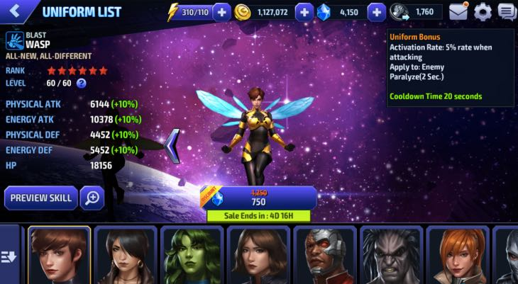 wasp-uniform-marvel-future-fight-review