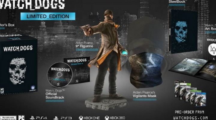 Watch Dogs $130 Limited Edition for fanatics