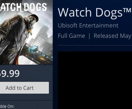Watch Dogs digital price vs. Asda, Tesco, and GAME UK