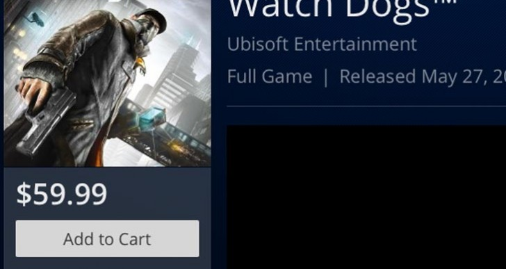 Watch Dogs digital price vs. Asda, Tesco, and GAME UK