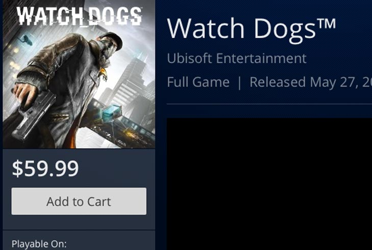 Watch Dogs Watch Dogs  Day One Sales