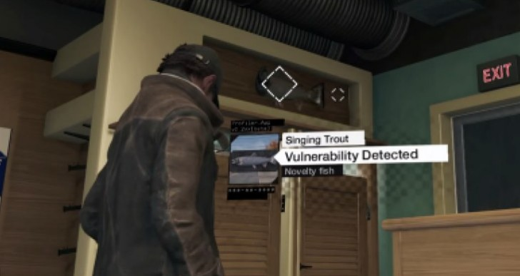 Strange Watch Dogs Easter egg